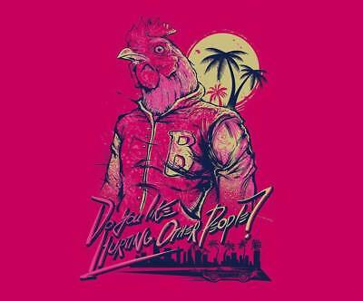 """YX01496 Hotline Miami - Hot Action Video Game 16""""x14"""" Poster"""