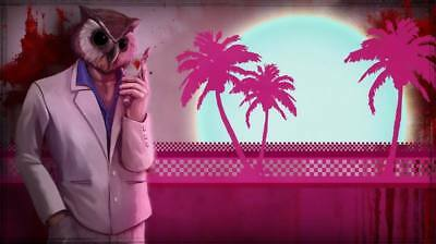 "YX01517 Hotline Miami - Hot Action Video Game 24""x14"" Poster"