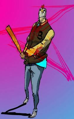 """YX01568 Hotline Miami - Hot Action Video Game 14""""x22"""" Poster"""