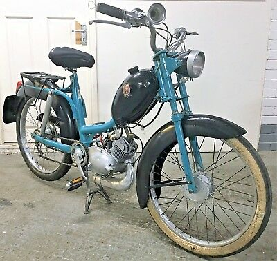 Rare 1958 Peugeot BB2L, 2 Speed Manual Moped, Barn Find, V5, Transferable Number