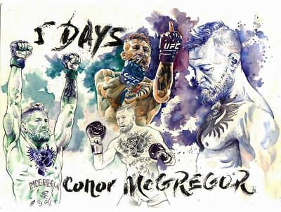 "TY16531 Conor McGregor - Irish MMA UFC Featherweight Champion 18""x14"" Poster"