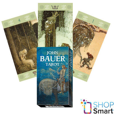 John Bauer Tarot Cards Deck Lo Scarabeo Original Telling Instructions New