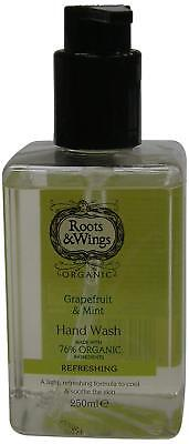 Roots & Wings Refreshing Grapefruit & Mint Hand Wash 250ml