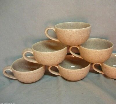 5 Mid Century Modern Atomic  Speckled Laurel Of California Coffee Cups Pink