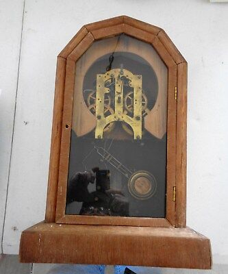 Vintage Junghan's Kitchen/Mantel Clock NOT COMPLETE PARTS ONLY