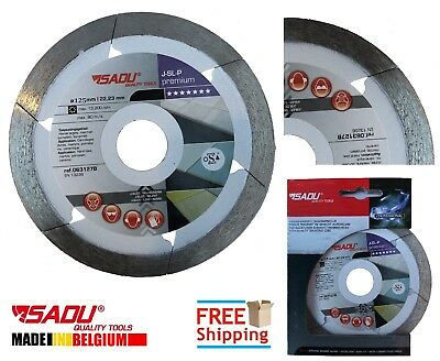 2Pc Porcelain Tile Cutting Diamond Blade Disc Thin Turbo 125mm 5in Angle Grinder
