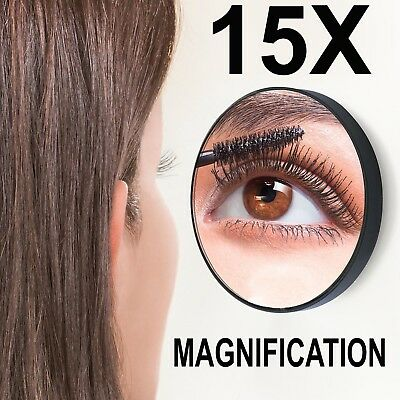 🔥15x Magnifying Make Up Beauty Mirror Vanity Cosmetic Eye Eyebrow Plucking Zoom
