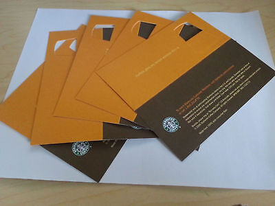 20 STARBUCKS Recovery Drink Card Voucher FREE Any Size Drink NO Expiration Date!