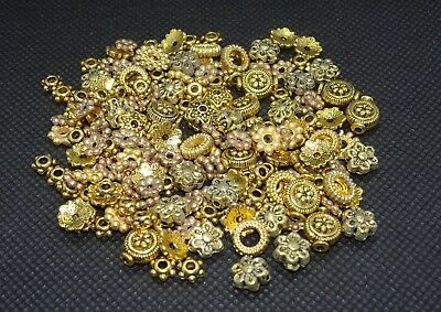 185 Gold Covered Spacers | Perfect for Jewellery Making