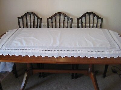 """Vintage Tablecloth 54"""" by 64"""""""