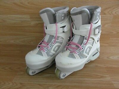 Anarchy Chaos 2 Aggressive Roller Inline Skates Blades UK Size 5 - Eur 38 Ladies