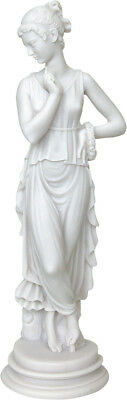 Kore of May / Persephone Goddess Queen of the underworld (Alabaster statue 31cm)