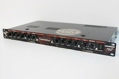 Revive Audio Modified:drawmer Ts2 Tube Station, Dual Channel Tube Compressor
