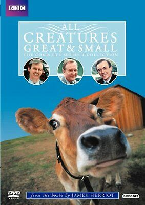 NEW - All Creatures Great & Small: The Complete Series 4 Collection
