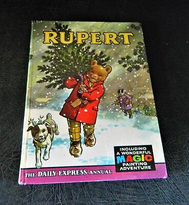 Scarce Rupert Annual 1965 Very Good Condition
