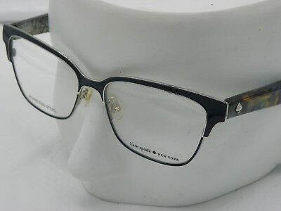53fa4f4046c New KATE SPADE KS Ladonna Eyeglasses 0S61 Blue Havana Glitter 53-15-140mm  E460