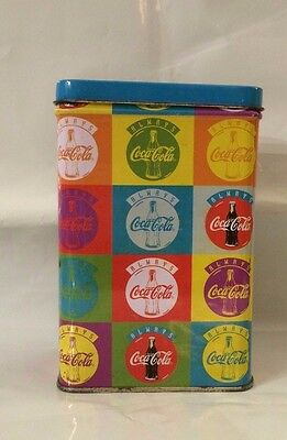 Vintage 1996 Always Coca Cola Tin Canister