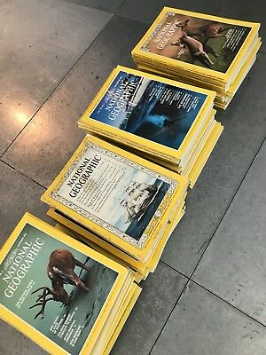 29 National Geographic magazines.  70s And 80s   Collectible And Interesting.