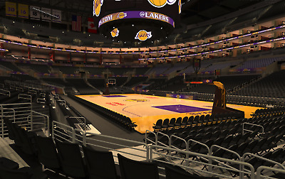 2 Los Angeles Lakers vs Clippers Tickets 12 28 18 Section 108 Lebron James d714db3a2c67