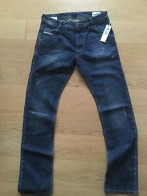 New with Tags Boy's DIESELKROOLEY-J Stretched Jeans Aged 16 in Blue