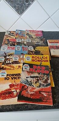 Vintage 'War Picture Library' Comics x 14 - 1 holiday special