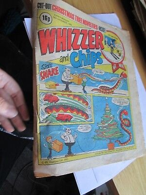 Vintage Comic Whizzer and Chips 1982