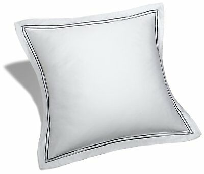 Pinzon 400-Thread-Count Egyptian Cotton Sateen Hotel Stitch Sham - European, Sil