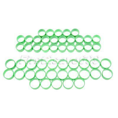 """50Pcs Poultry Leg Rings For Birds Hens Ducks Small Big Size Durable Use H0.67"""""""