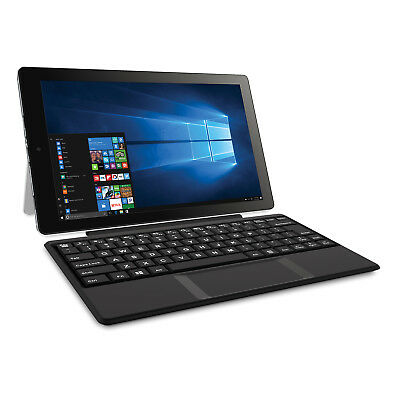 """RCA Cambio 10.1"""" 2-in-1 32GB Tablet Windows 10 Office Mobile Keyboard W101SA23T1"""