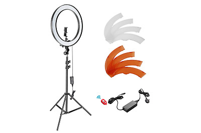 Neewer 18-inch Outer Dimmable SMD LED Ring Light Kit with 78.7 inch Light Stand