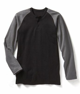 NEW - Rasco FR Flame Resistant Henley T-Shirt Two-Tone Designs - Fast Shipping