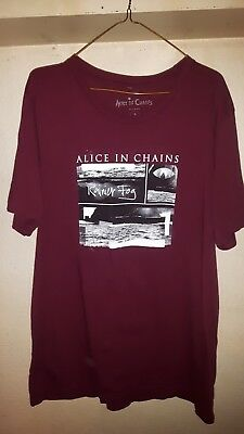 Alice In Chains - Official 2018 Tour Shirt, New, Men's Extra Large (XL)