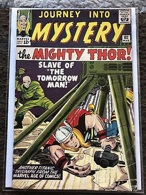 Journey into Mystery #102 - Marvel 1964 - First Sif and first Hela!