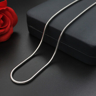 WHOLESALE 0.9&1.2&1.5&2&2.4&3.2mm 16''-24'' Stainless Steel Snake Chain Necklace