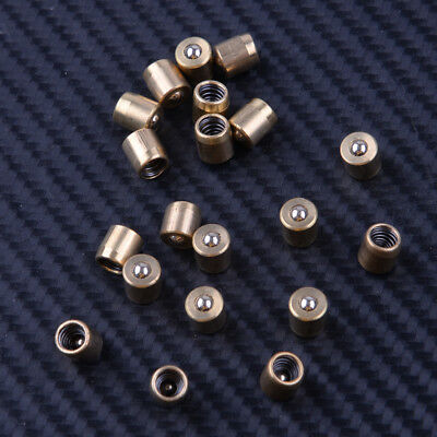 Set of 20  Brass Push Button Oiler for Engine Hit Oil Grease Metal Tool  6x6mm