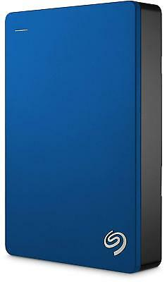 "Seagate Backup Plus Portable 4TB USB 3.0 2.5"" External Hard Drive HDD Blue"