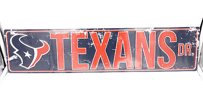 Seattle Seahawks DR Licensed NFL Distressed Street Aluminum Wall Man Cave Sign