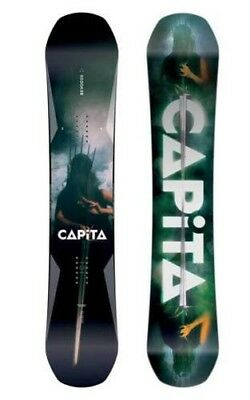Capita Snowboard - DOA Defenders of Awesome All-Mountain Hybrid Camber - 2019