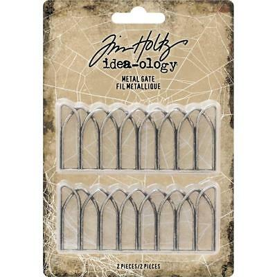 Tim Holtz Idea-Ology ~ METAL GATE ~ Halloween TH93735 2 in packet