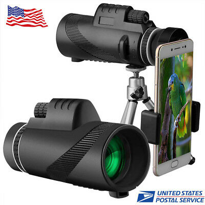 40X60 High-power Outdoor Telescope With Fast Smartphone Stand Night Vision