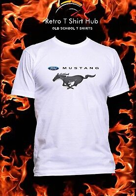FORD MUSTANG Retro Vintage CLASSIC   MEN'S & WOMEN'S  T SHIRT