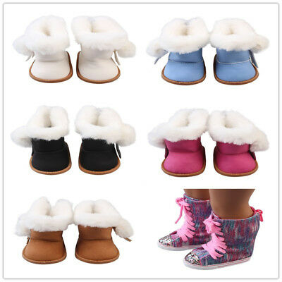 18in Girls Dolls Boots Shoes for 43cm Baby Born Doll or Doll Accessory Girl Gift