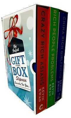 Crazy Rich Asians Series  Kevin kwan Collection Gift Wrapped Box Set NEW