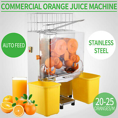 Auto Feed Orange Juicer  120W New Citrus Juice Machine Squeezer