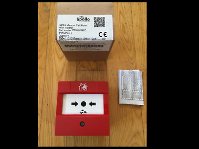 apollo XP95 Manual Call Point with Isolator 55200-908 APO......(53)