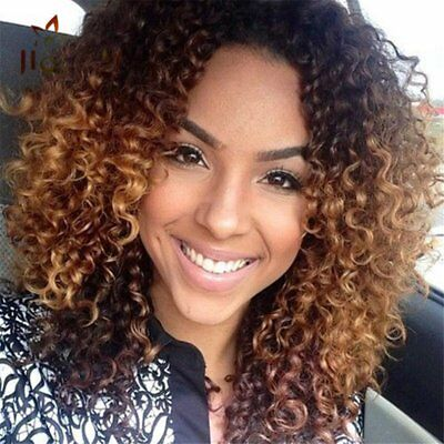 Fantastic HAIR Synthetic Wig Long Curly Afro African American Wigs For Women Gir