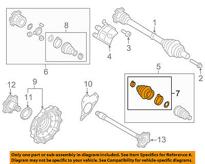 Fantastic Audi Oem 13 17 Q5 Carrier Front Axles Cv Joint Boot Outer 8R0498203 Wiring Digital Resources Funapmognl