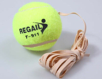 Reusable Tennis With Elastic Rubber Rope Outdoor Sports Practice Training Balls