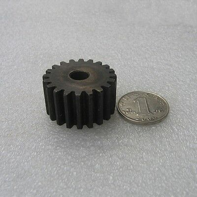 1Pcs 4.0Mod 19T Motor Spur Gear 40# Steel Spur Gear Thickness 35mm Outer Dia 84m