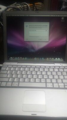 "Powerbook G4 12"" Mac Os X"